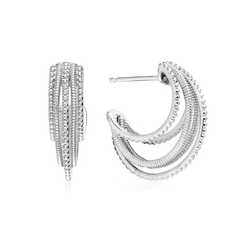 Eternity Multi-Hoop Earrings