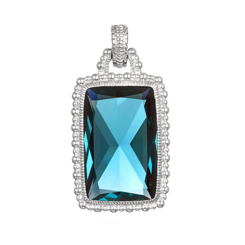 RIPKA Ambrosia London Blue Spinel Pendant