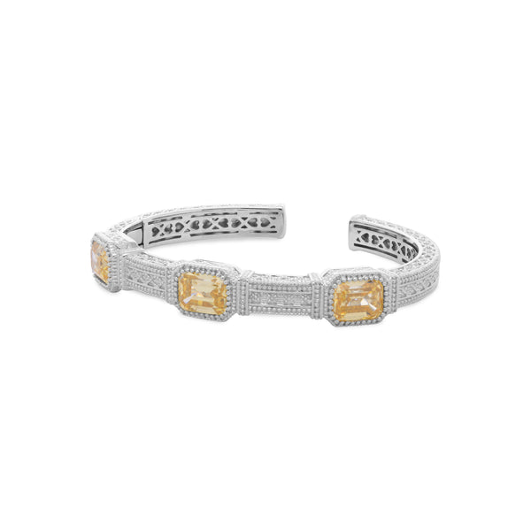Estate Canary CZ Cuff