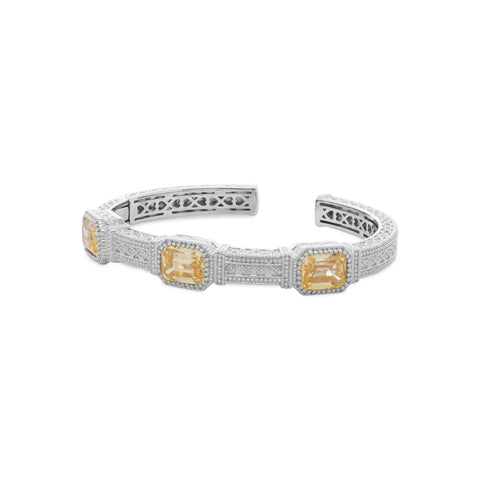 RIPKA Estate Canary CZ Cuff