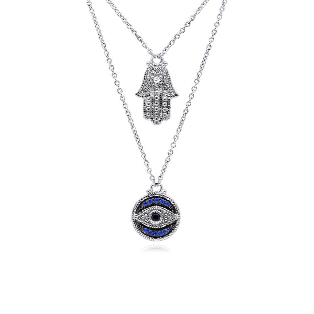 estate white silver canary product necklace pendant ripka sapphire of shop judith sterling image crystal