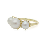 RIPKA Bella Triple Pearl Ring