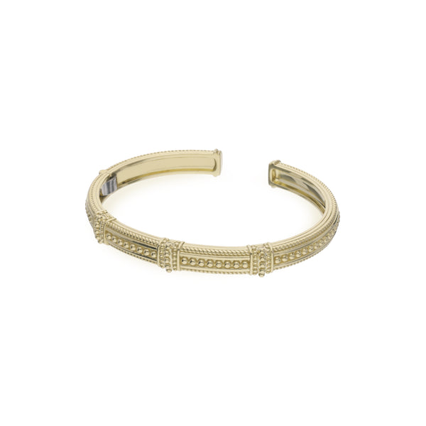 Estate 14K Gold Pia Cuff