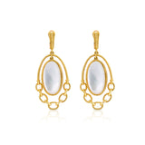 JUDITH RIPKA LTD Bermuda Mother Of Pearl Doublet Earrings
