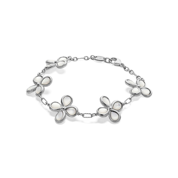 Jardin Station Bracelet with Mother of Pearl