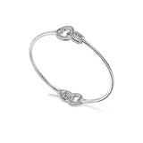 Vienna Interlocking Stack Bangle