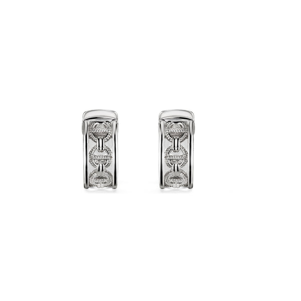 Vienna Huggie Hoop Earrings