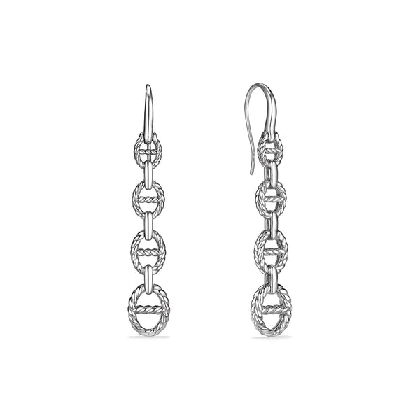 Vienna Graduated Link Drop Earrings