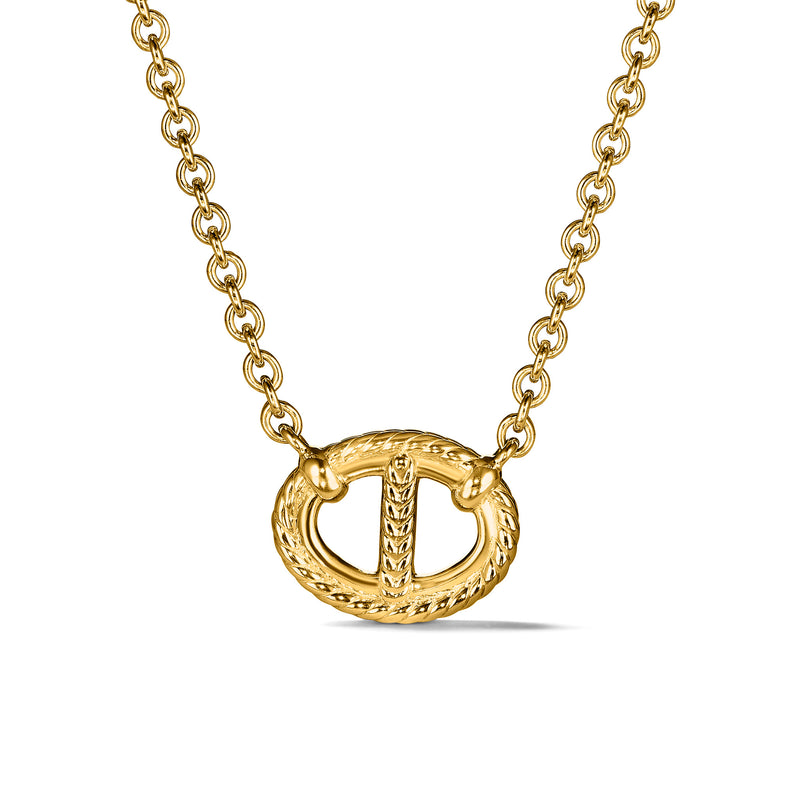 Vienna Single Link Necklace in 18K