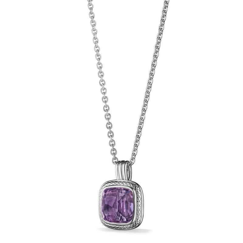 Cassandre Necklace with Amethyst