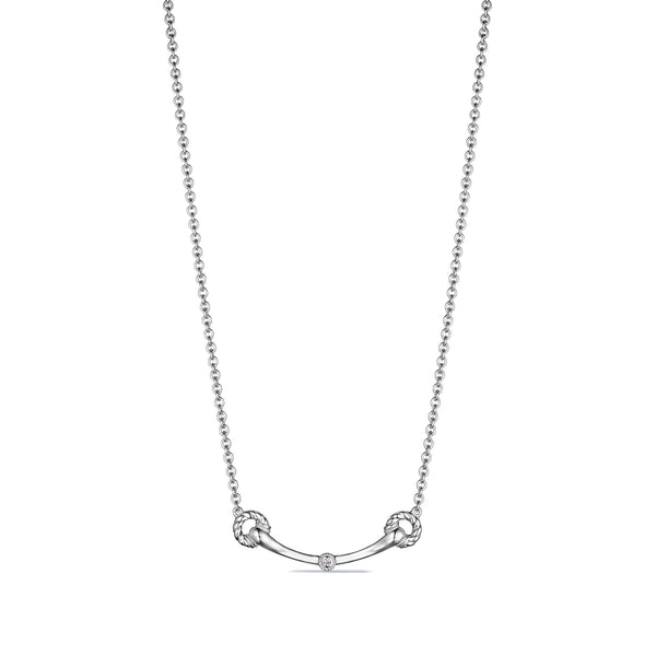 Vienna Bit Necklace with Diamonds
