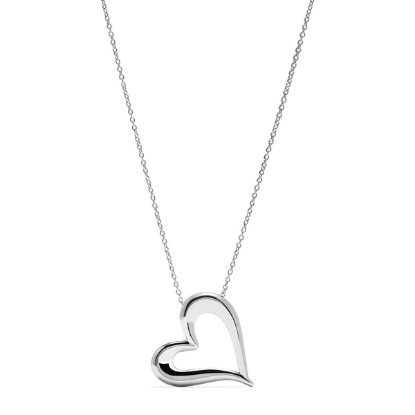 Eros Open Heart Necklace
