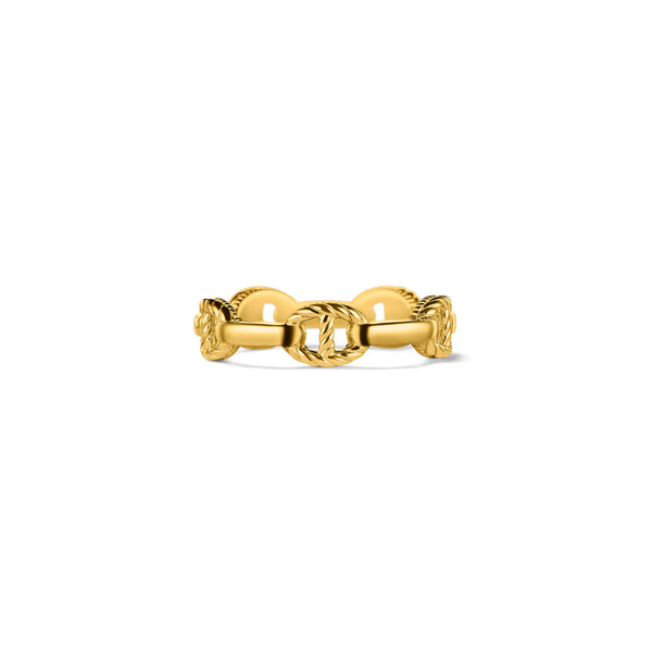 Vienna Stack Ring in 18K