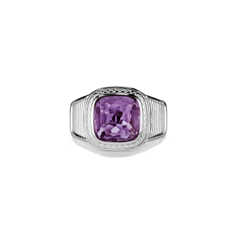Cassandre Ring with Amethyst