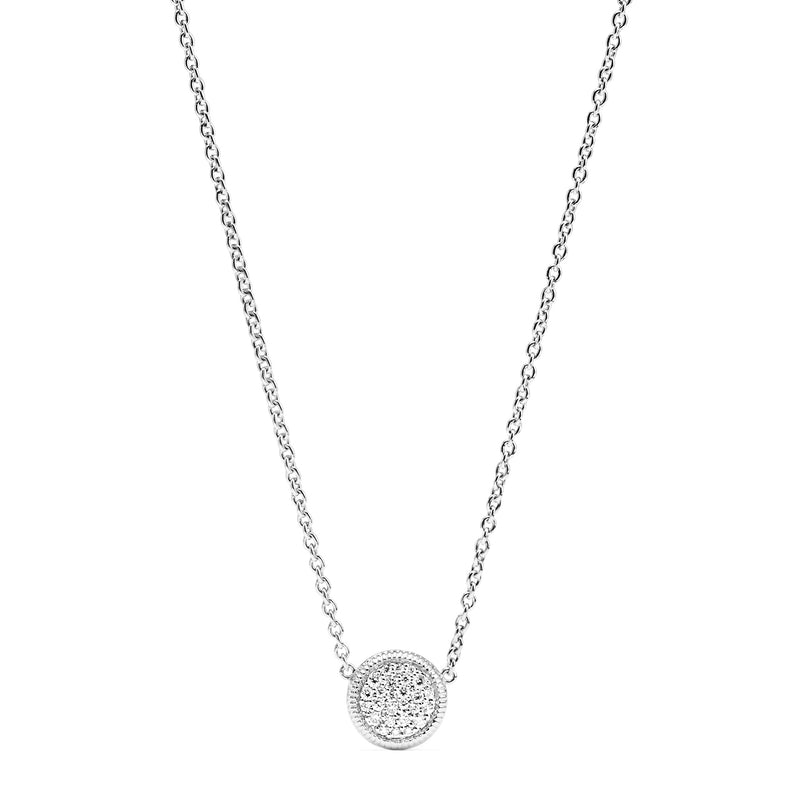 Max Pave Necklace with Diamonds