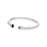 RIPKA Empire Upside Down Cuff with Amethyst Tips