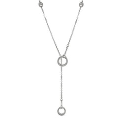 Vienna Y Necklace with Cultured Diamonds