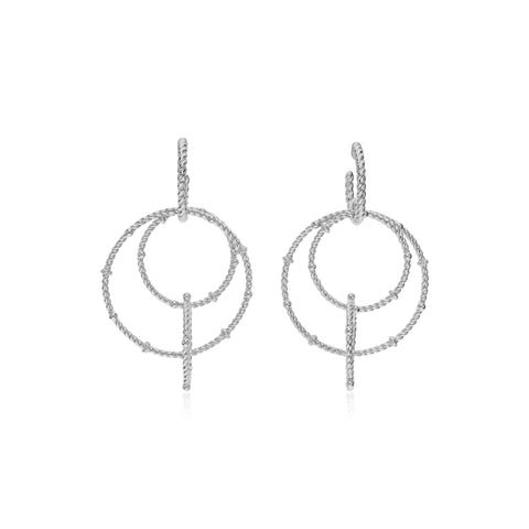 RIPKA La Petite Multi-Loop Drop Earrings