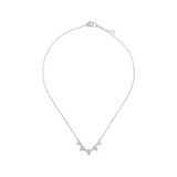 RIPKA Santorini White Topaz Baby Dew Drop Necklace