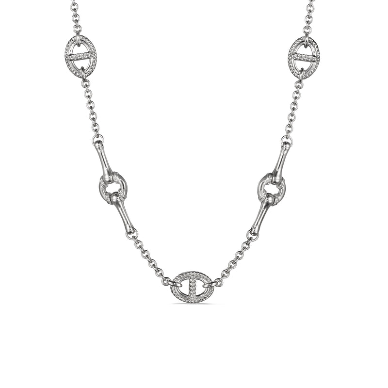 Vienna Multi Link Station Necklace