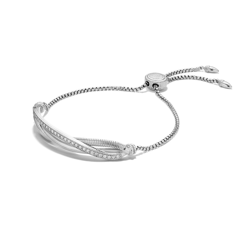 Eternity Friendship Bracelet with Cultured Diamonds