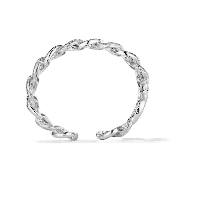 Eternity Interlocking Link Cuff Bracelet