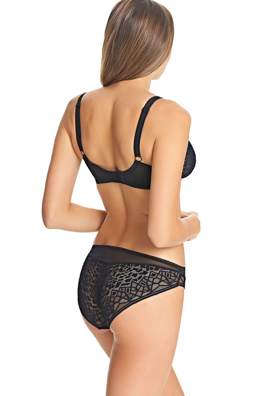 Soiree Lace Black Brief