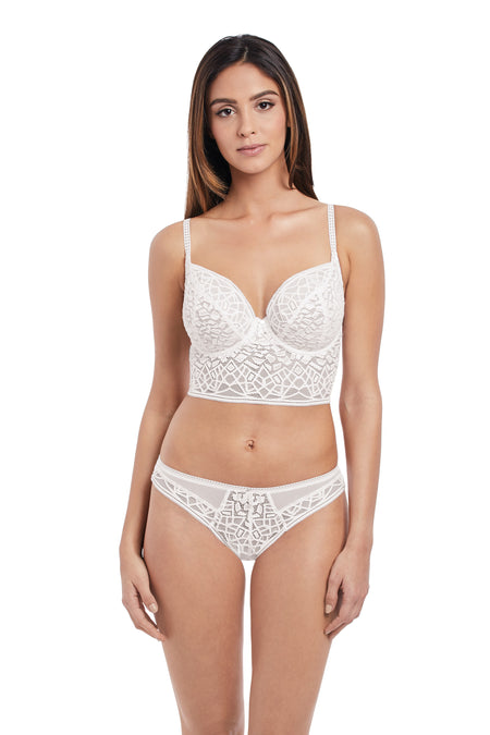 Soiree Lace White Brazilian