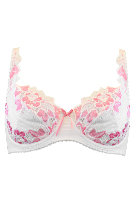 Lepel - Fiore Full Cup Bra Ivory/Lipstick