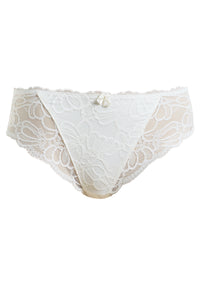 Jacqueline Lace Ivory Brief