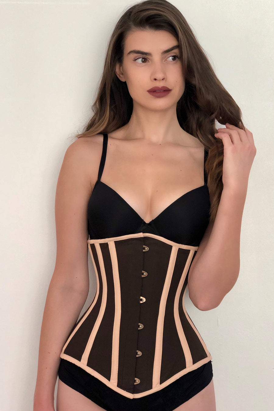 Single Layer Longline Underbust Corset