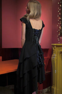 Little Black Corseted Dress