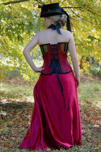 Stripped Down Military Steampunk Corset