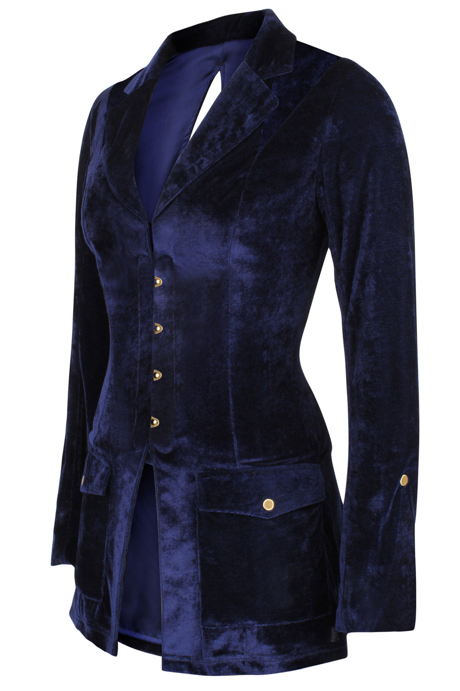 Velvet Corseted Jacket