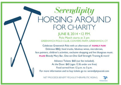 Turq Swim Briefs Supports Horsing Around for Charity Event