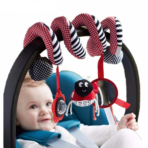 Cute Spiral Baby Toys For Bed & Stroller - Free Shipping - NewBorn & Mom
