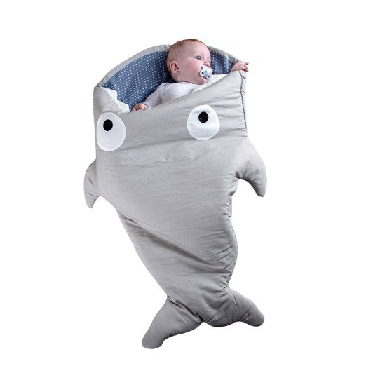 Shark Baby Sleeping Bag - Free Shipping - NewBorn & Mom