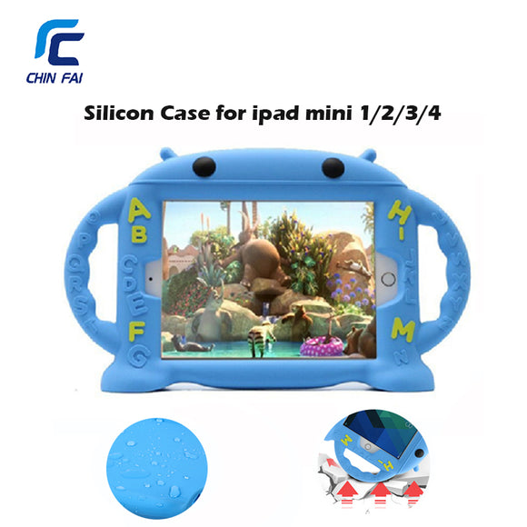 Shockproof  Baby Safe Case for iPad Mini 1 2 3 4 - Free Shipping - NewBorn & Mom