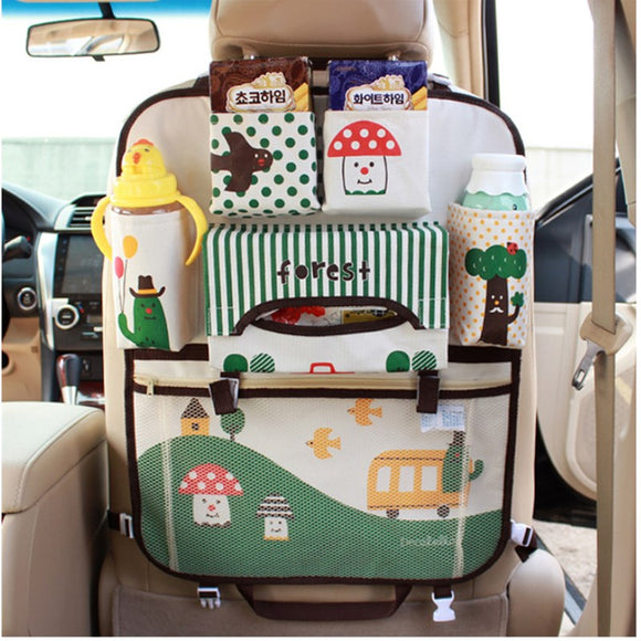 Car Seat Organizer Bag For Baby Travel - Free Shipping - NewBorn & Mom