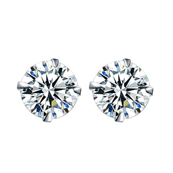 Sterling Silver Jewelry Stud Earrings For Women - Free Shipping - NewBorn & Mom