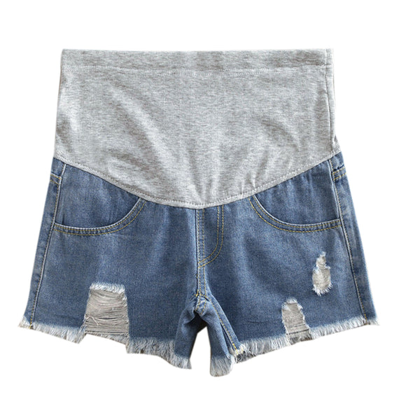 Cowboy Fashion Maternity Shorts - Free Shipping - NewBorn & Mom