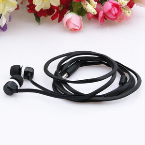 3.5mm MP3 Earbuds With Microphone for iPhone Samsung