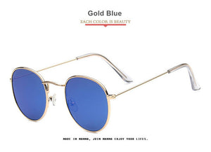 YOOSKE Fashion Mirrored Sunglasses For Women