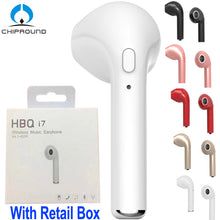 Wireless Earphone Bluetooth Headset Invisible Earbud with Mic for iPhone 7 plus 7 6 6s 5 5s Samsung S8