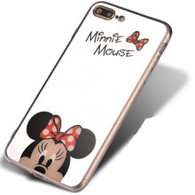 NEW Arrival! Cartoon Mickey Mouse Mirror Phone Cases for iPhone X 6 6s 6Plus 7 7plus 5s
