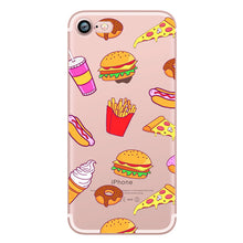 New Soft Silicone iphone Cases For iphoneX 6 6S 6plus  7 7plus 5  5S
