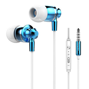 High Quality Langsdom Metal Earphone With super Bass and Mic