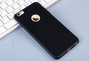 Candy  Soft Silicon phone cases Coque  For iPhone X  5 5S SE 6 6S 6plus 7 7plus