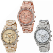 Women's Chronograph Quartz Faux Watch - 3 Colors Available