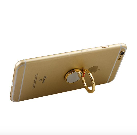 Stand-Gold Mirror Metal Ring Stand